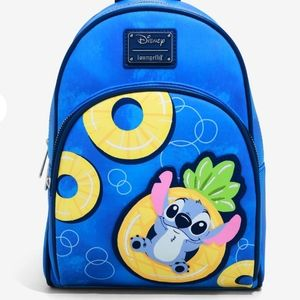 Stitch Pineapple Floaty Mini Backpack By Loungefly